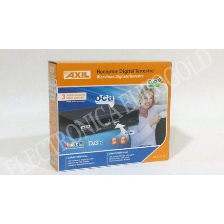 RECEPTOR DIGITAL TERRESTRE CON USB REPRODUCTOR AXIL
