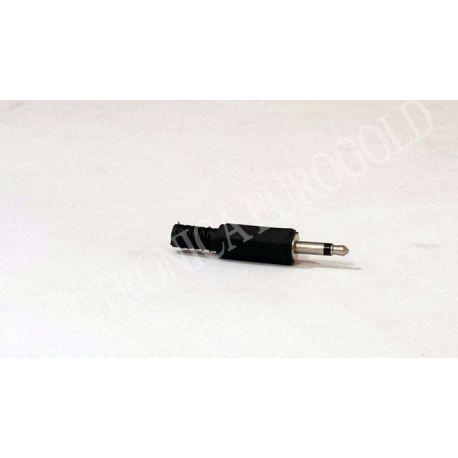 CONECTOR JACK MACHO 3,5mm MONO CARCASA DE PLASTICO (1004)