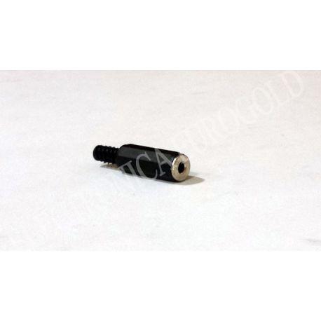 CONECTOR JACK HEMBRA 2,5mm STEREO CARCASA DE PLASTICO (2185)