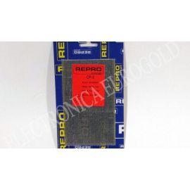 PLACA FIBRA PISTAS PASO 2,54 90X155mm REPROCIRCUIT