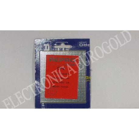 PLACA FIBRA PISTAS PASO 2,54 77,5X90mm REPROCIRCUIT