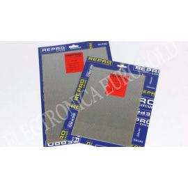 PLACA FIBRA TOPOS PASO 2,54 160X232mm REPROCIRCUIT