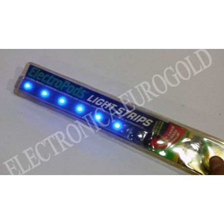 ELECTROPODS LIGHT STRIPS COLOR AZUL