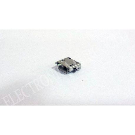 CONECTOR MICRO USB B 5P.HEMBRA CIRCUITO IMPRESO
