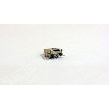 CONECTOR MINI USB 5P. HEMBRA PARA CHASIS
