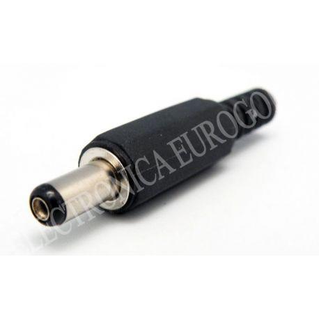 CONECTOR JACK ALIMENTACION 4,75X1,7mm (9mm)