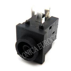 CONECTOR JACK ALIMENTACION HEMBRA PARA CHASIS PIN 1,0mm (EG3790)