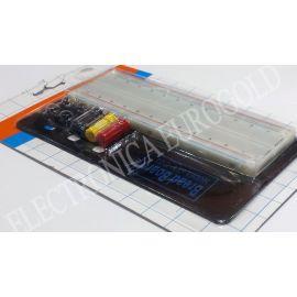 MODULO BOARD 830 CONTACTOS PASO 2,54mm 165X45mm + SOPORTE Y BORNES