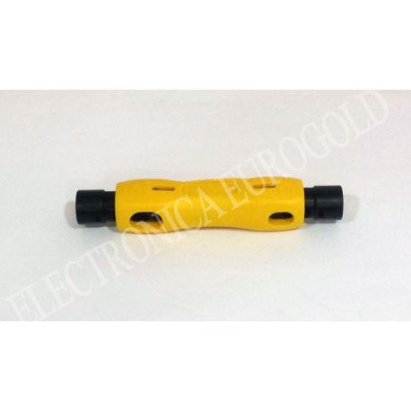PELACABLES PARA CABLE COAXIAL RG59/62/6/11/213 (3736)