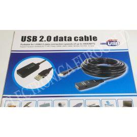 REPETIDOR DE SEÑAL USB 2.0 10MTS