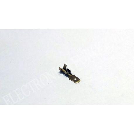 BLISTER TERMINAL FASTON MACHO 4,8mm