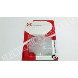 BLISTER PROTECTOR FASTON MACHO 6,3mm