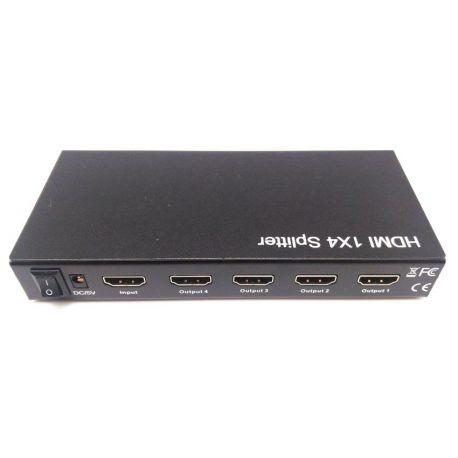 SPLITTER 4P. HDMI 1ENT-4SAL.1.3 1080P