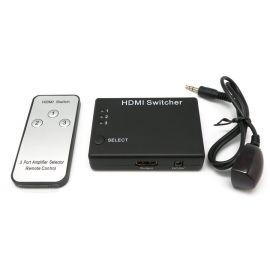 SELECTOR SWITCH HDMI 1.3 3ENT-1SAL. 1080P C/MANDO A DISTANCIA