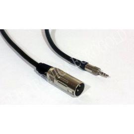 CONEXION CANON XLR M / JACK 3,5 ST 1MT