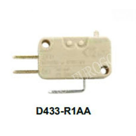 MICRORRUPTOR CHERRY SERIE D433-R1AA