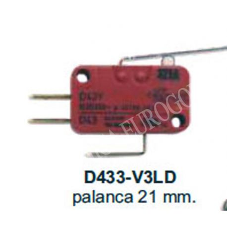 MICRORRUPTOR CHERRY SERIE D433-V3LD