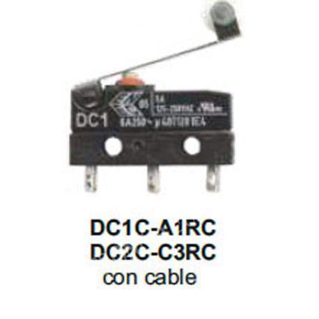 MICRORRUPTOR CHERRY SERIE DC1C-A1RC