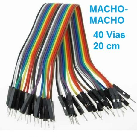 DUPONT LINEA DE CABLES 40 VIAS macho-macho