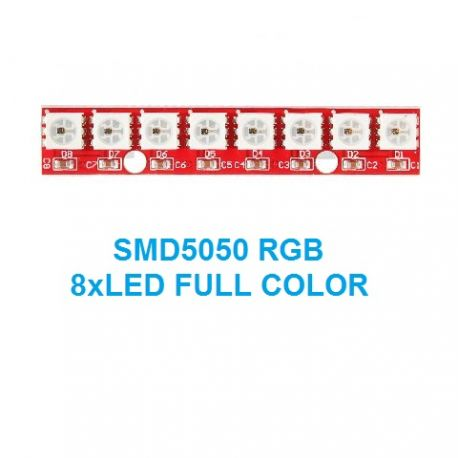 MODULO 2812-8BIT 8xLED SMD5050 RGB