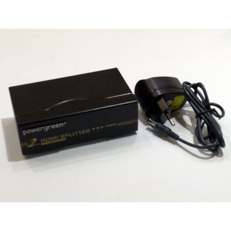 SPLITTER HDMI 1.4 - 1 ENTRADA / 2 SALIDAS FOTO 2