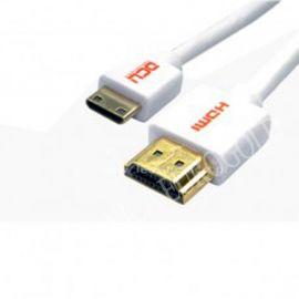 CONEXION HDMI M - MINI HDMI M 1,5mts SLIM DCU