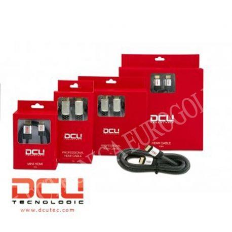 CONEXION HDMI M - MINI HDMI M 3mts DCU